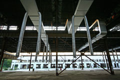 Interior under construction Royalty Free Stock Photo