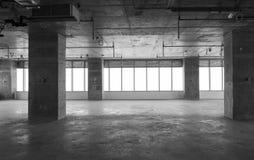 Interior under konstruktion Arkivfoto