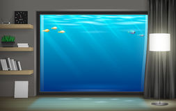 Free Interior Underwater Hotel Royalty Free Stock Images - 82831649