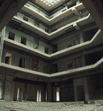 Interior of an Unfinished Building Royalty Free Stock Images