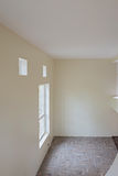 Interior of unfinished living room Royalty Free Stock Photo