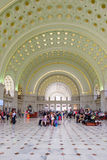 The interior of Union Station in Washington D.C. Royalty Free Stock Photos