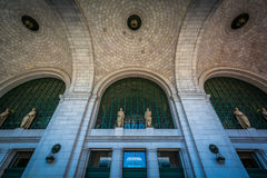 The interior of Union Station in Washington, DC. Royalty Free Stock Photography