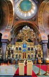 Interior of the Uspenski Cathedral, Helsinki Royalty Free Stock Photo