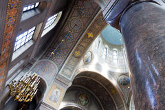 Interior of uspenski cathedral in helsinki Royalty Free Stock Images