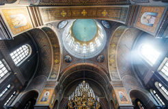 Interior of Uspenski Cathedral in Helsinki, Finland Royalty Free Stock Photos