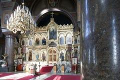 Interior of uspensky cathedral in helsinki Stock Photos