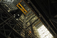 Interior of the VAB, Kennedy Space Center Royalty Free Stock Photography