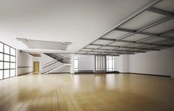 Interior vacío 3d ilustración del vector
