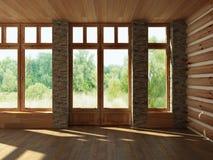 Interior vacío Imagenes de archivo