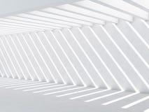Interior vacío abstracto, fondo 3d del CG Fotos de archivo