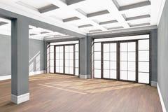 Interior vacío de la sala de estar Fotografía de archivo