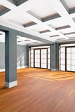 Interior vacío de la sala de estar Imagen de archivo libre de regalías
