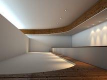 Interior vacío moderno Fotografía de archivo