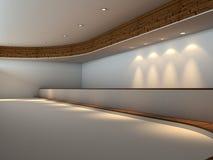 Interior vacío moderno Fotografía de archivo libre de regalías