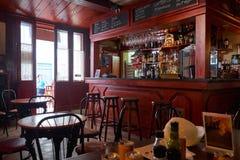 The interior of Valletta cafe, Malta Stock Photos