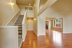 Interior vazio da casa Imagens de Stock