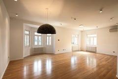 Interior vazio do apartamento Fotos de Stock Royalty Free