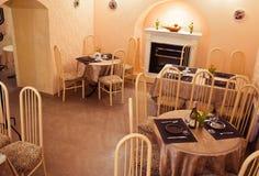 Interior vazio do café Foto de Stock Royalty Free