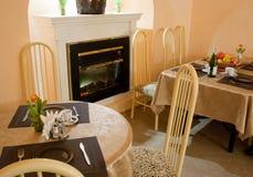 Interior vazio do café Imagem de Stock Royalty Free