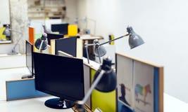 Interior vazio do escritório Imagem de Stock Royalty Free