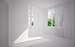 Interior vazio moderno Foto de Stock