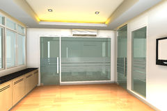 Interior vazio para o escritório de negócio moderno Fotos de Stock