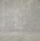 Interior vazio para o projeto, muro de cimento Quarto vazio Espaço para o texto e a imagem Ideias e estilo do projeto fotografia de stock