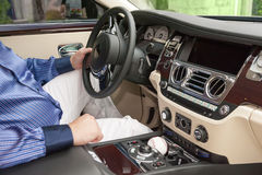 Interior of the vehicle Royalty Free Stock Photography