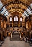 Interior velho do museu Imagem de Stock Royalty Free
