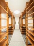 Interior, vestuario Fotos de archivo