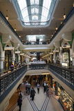 Interior of Victoria Mall in Sydney Australia Royalty Free Stock Photos