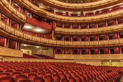 Vienna State Opera interior Royalty Free Stock Photos