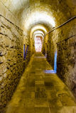 Interior view of the Angevine-Aragonese Castle in Gallipoli, Ita Royalty Free Stock Photo