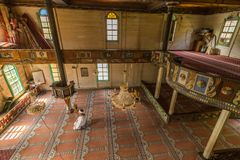 Interior view of Artin, Macahel, Camili Camii& x28;mosque& x29; Stock Photo