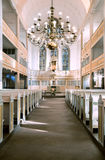 Interior view of Bach Church in Arnstadt, Germany. Stock Photography