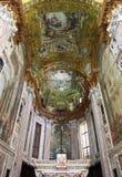 Interior view of Basilica dell'Annunziata Stock Image