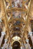 Interior view of Basilica dell'Annunziata Royalty Free Stock Photos