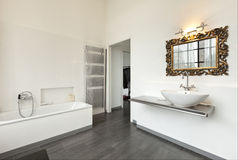 Interior, view of the bathroom Royalty Free Stock Images