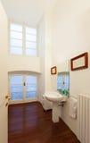 Interior, view  bathroom Stock Image
