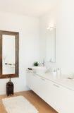 Interior, view bathroom Royalty Free Stock Image