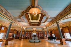 Interior view of the beautiful Crocker Art Museum Royalty Free Stock Photo