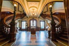 Interior view of the beautiful Crocker Art Museum Stock Photos