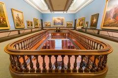 Interior view of the beautiful Crocker Art Museum Stock Photography