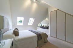 Interior View Of Beautiful Luxury Bedroom Stock Photo