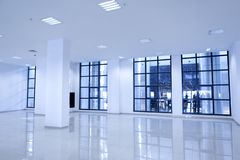 White Blank Office royalty free stock photography