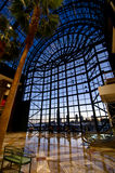 Interior View of the Brookfield Place Winter Garden in NYC. Stock Images