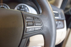 Interior view of car Royalty Free Stock Image