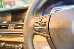 Interior view of car Stock Image