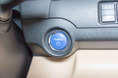 Interior view of car Royalty Free Stock Photo